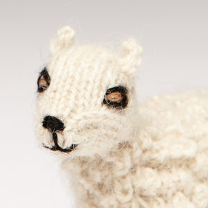 Image of Puppet animal Sheep white