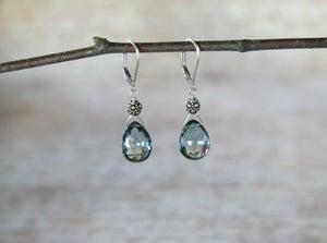 Image of London Blue Topaz Earrings