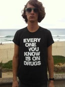 """Image of 40% OFF!! **Special** Gray """"Drugs"""" shirt + """"Circuitry"""" cd"""