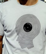 Image of Record Head - Men's Tee