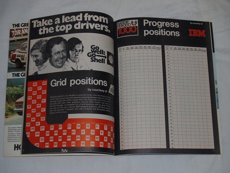 Image of 1973 Hardie Ferodo 1000, Bathurst Programme
