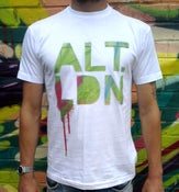 Image of ALT.LDN T-Shirt Summer on the Bus - White