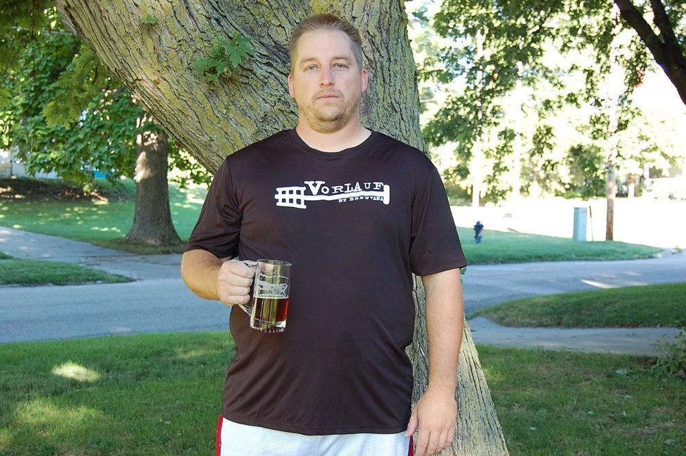 Image of Vorlauf Men's T-Shirt-Black