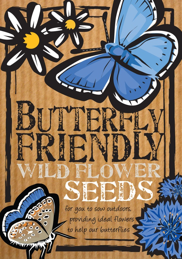 Image of Butterfly-Friendly Wild Flower Seeds