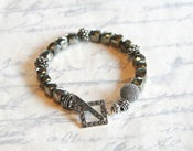 Image of Pyrite Cube and Marcasite Bracelet