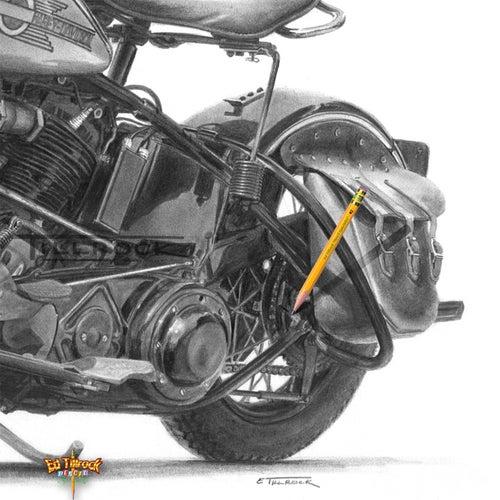 "Image of ""The Perfect Bike"" 11x17 print"