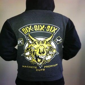 Image of Six Six Sixer's zip hood
