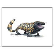 "Image of ""Happy Gila"" Gila Monster Print"