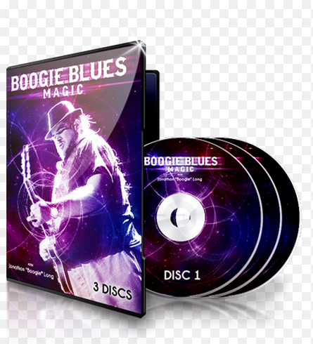 Image of Boogie Blues Magic Instructional DVDs