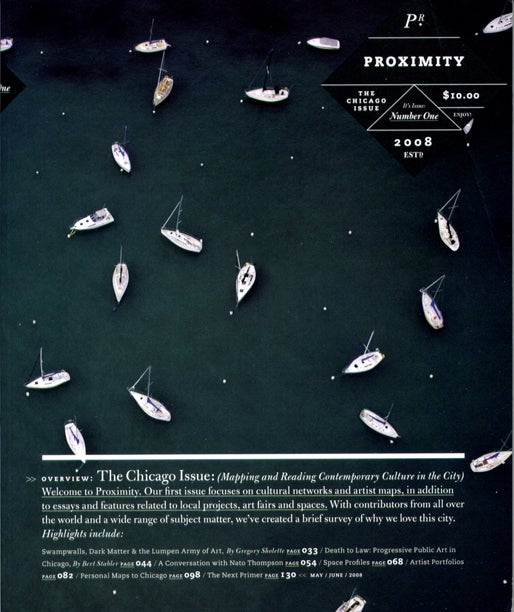 Image of Proximity Magazine Issue 001