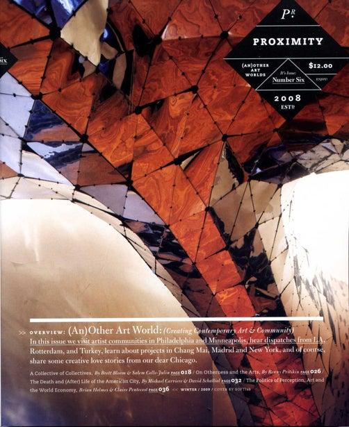 Image of Proximity Magazine Issue 006