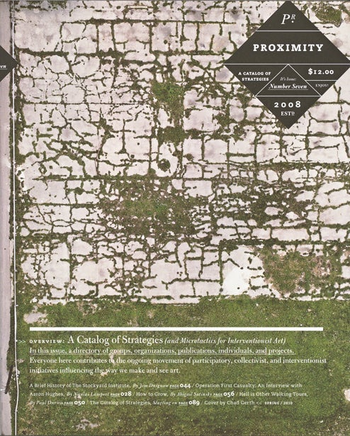 Image of Proximity Magazine Issue 007