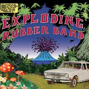 Image of Exploding Rubber Band -Magic Train b/w Rebellious Love 7""