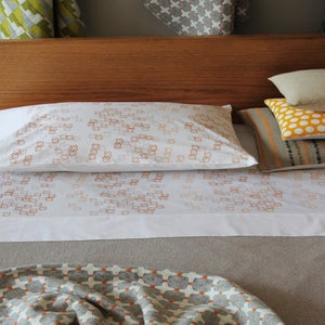 Image of cross dotty pillowcases
