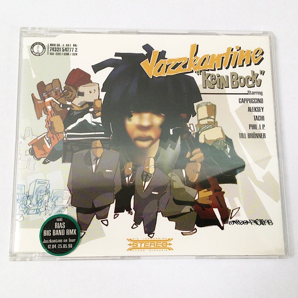 Image of Jazzkantine - Kein Bock / CD Maxi