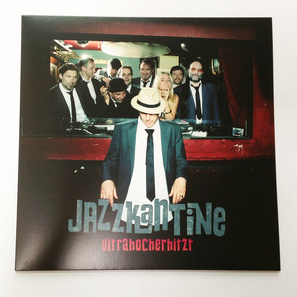 Image of Jazzkantine -Ultrahocherhitzt / LP Album