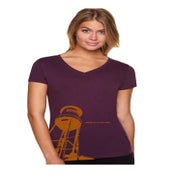 "Image of Women's ""Water Tower"" V-Neck Tee"