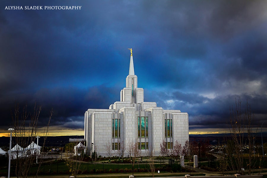 Image of Calgary Alberta Temple - Open House