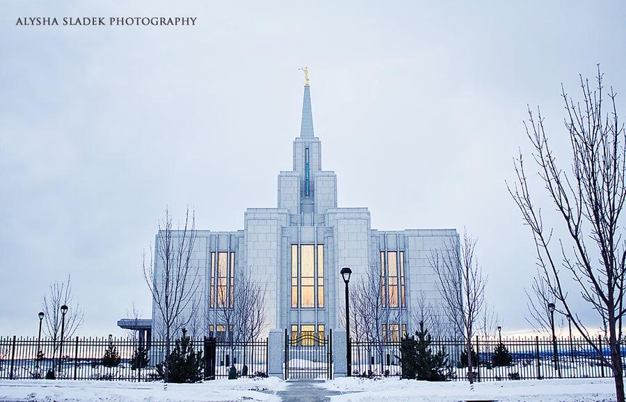 Image of North Side - Calgary Alberta Temple