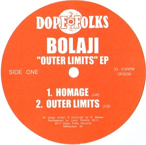 """Image of BOLAJI """"OUTER LIMITS"""" EP"""