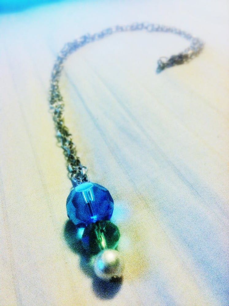 Image of Ocean Brilliance Drop Necklace