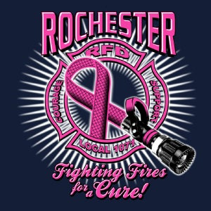 Image of Breast Cancer Polo Shirt 2013 - RFD / IAFF members
