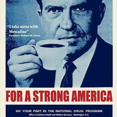 Image of Frank Kozik: Big Dick's Coffee Screen Print