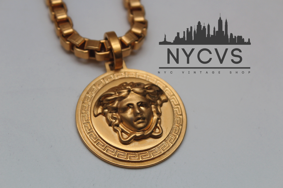 Versace medusa necklace site moved to nycvintageshop versace medusa necklace aloadofball Images
