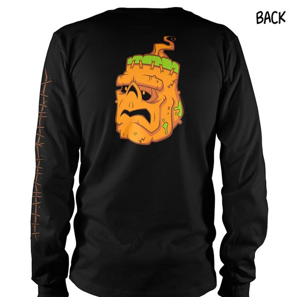 "Image of Laboratory of the Zombie Pumpkins ""Stitched"" Long Sleeve"