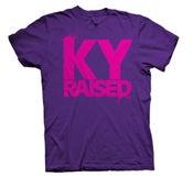 Image of KY Raised FEMALE Tee in Royal Purple & Hot Pink