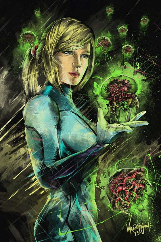 """Image of """"I Hunt To Save Another Life"""" - Inspired by Metroid"""