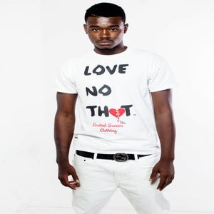 "Image of White ""Love No Thot"" Shirt"