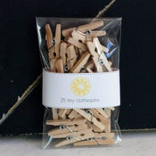 Image of Tiny Clothespins