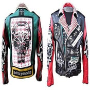 Image of The Evil Brains Leather Jacket