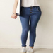 Image of High Waist 4 Button Skinny Jeans