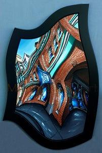 Image of Blue Fox Cafe Original Painting