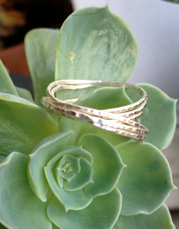Image of Sterling Silver Stacking Rings