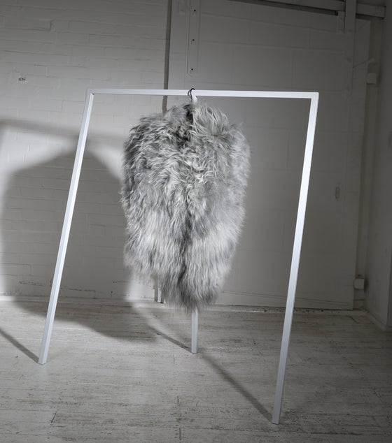 Image of GREY ICELANDIC SHEEPSKIN