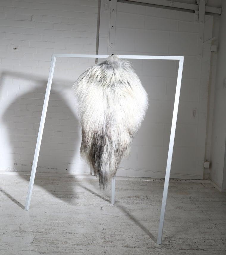 Image of GREY ICELANDIC SHEEPSKIN