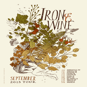 Image of Iron & Wine - September 2013 Tour Poster