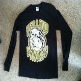 "Image of Yellow Stitches ""Dope Dog"" Longsleeve"
