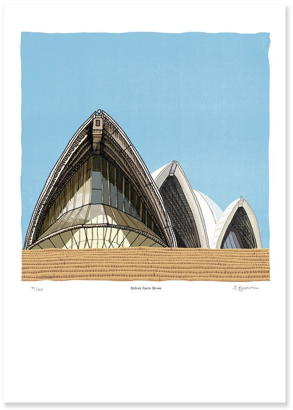 Image of The Sydney Opera House Limited Edition Digital Print