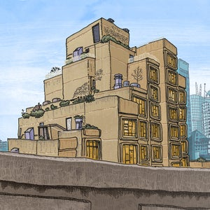 Image of The Sirius Apartments Limited Edition Digital print