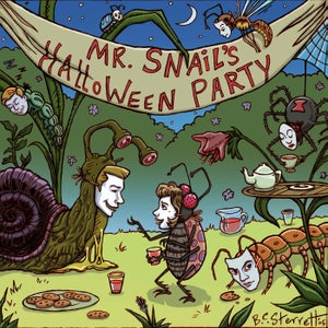 Image of Mr. Snail's Halloween Party CD