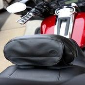 Image of The Bone® POCKET for RIDER Backrest (Black Icon) » '09-current models BC#106007
