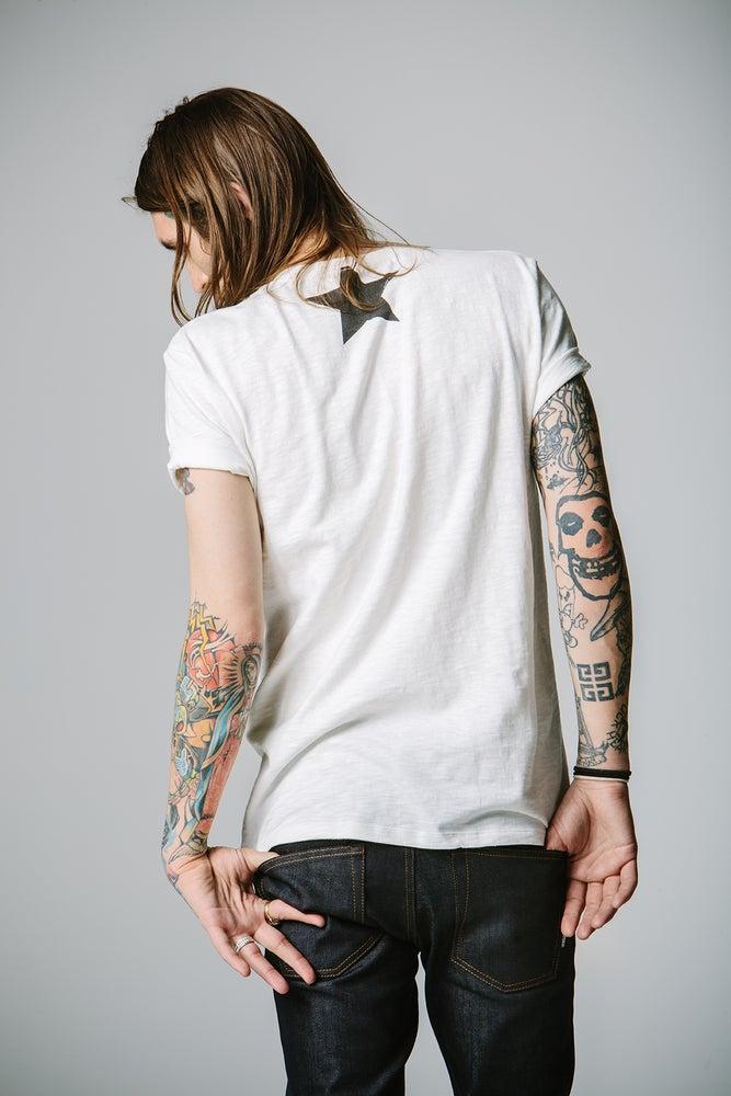 Image of Round Neck T-shirt - White
