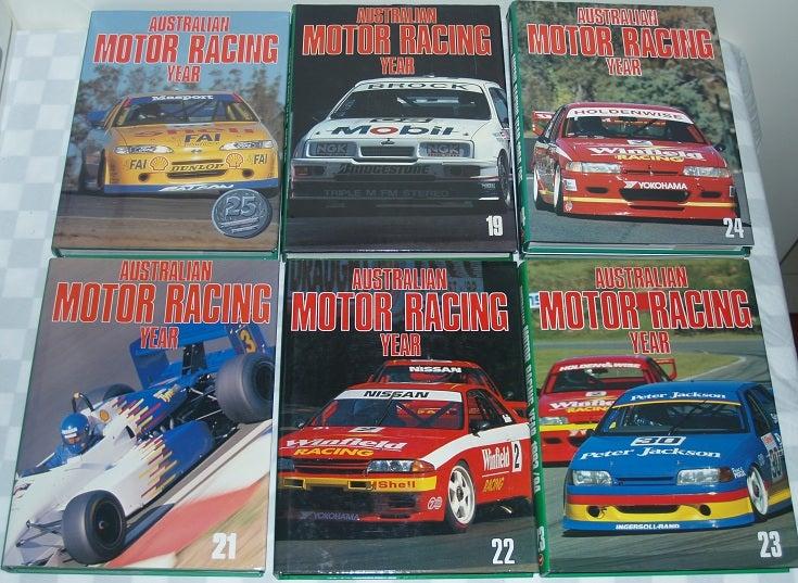 Image of Australian Motor Racing Yearbook # 25. RARE. The LAST of the SERIES.