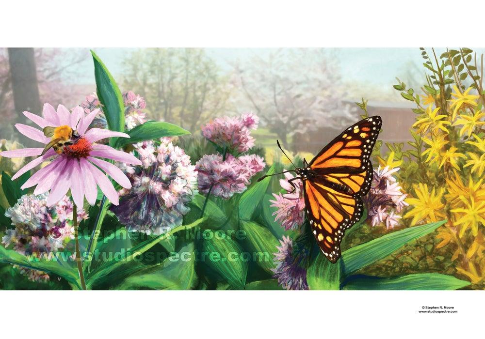 Image of Garden Scene