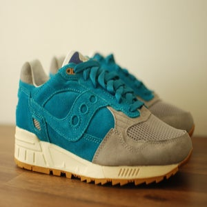 Image of Bodega x Saucony Shadow 5000 Teal/Grey