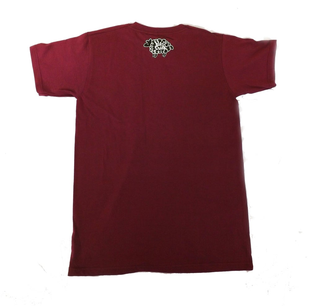 Image of LOGO T-SHIRT (BURGUNDY)